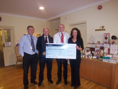 Greenwich & Bexley Hospice - 2nd Ables Donation.
