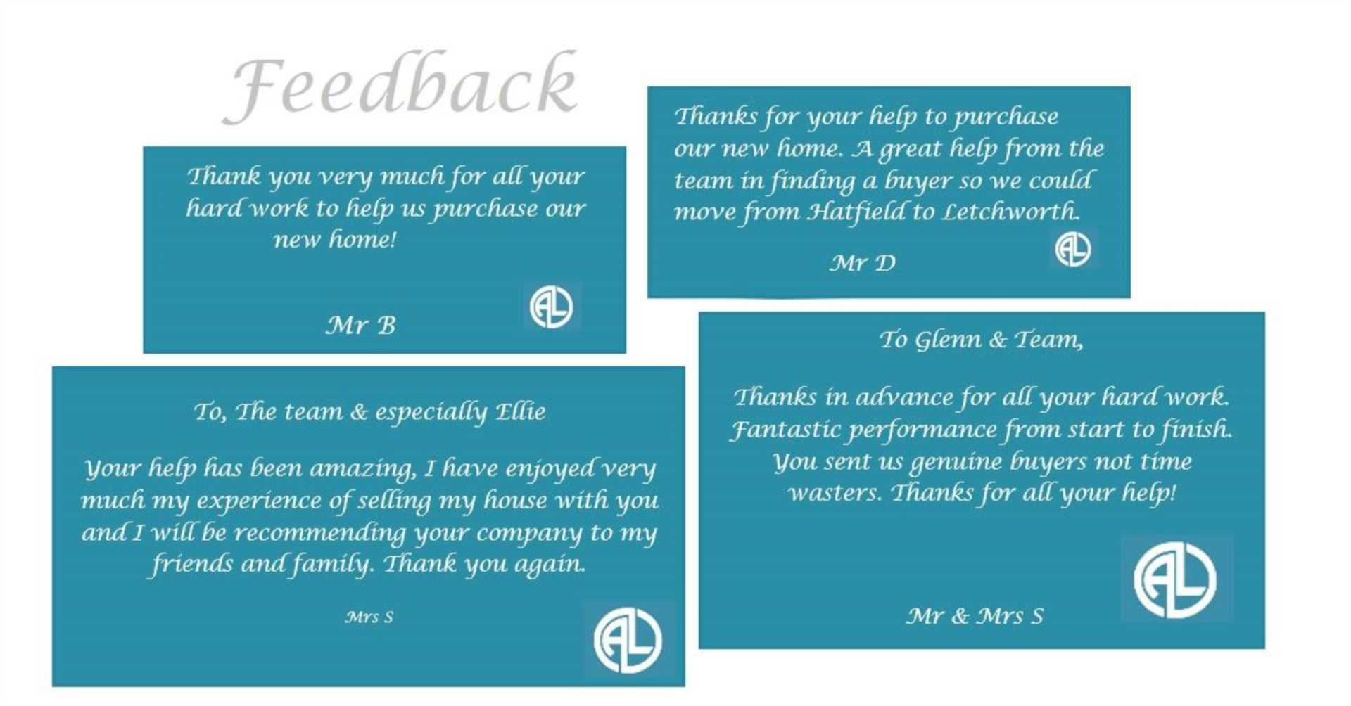 More outstanding feedback from our clients!!