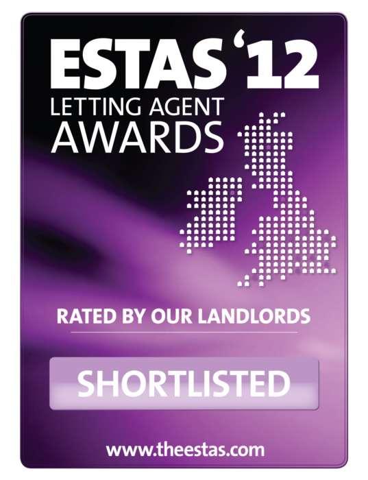 Short Listed For Award For Lettings