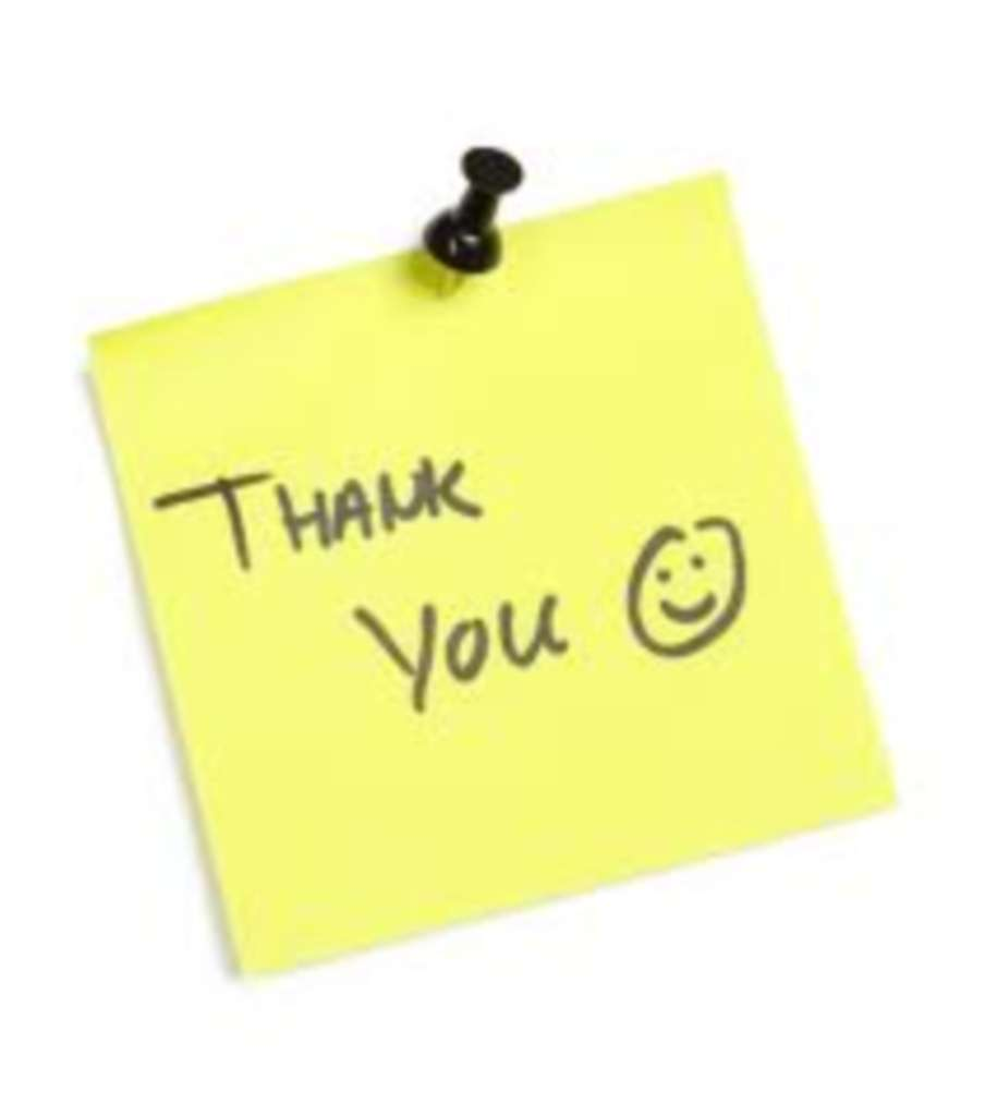 `Thank You Once Again For The Competence And Efficiency Of Your Company`
