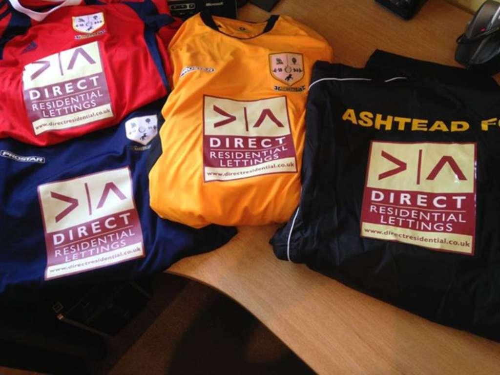 Sponsorship For Ashtead Colts U14`s