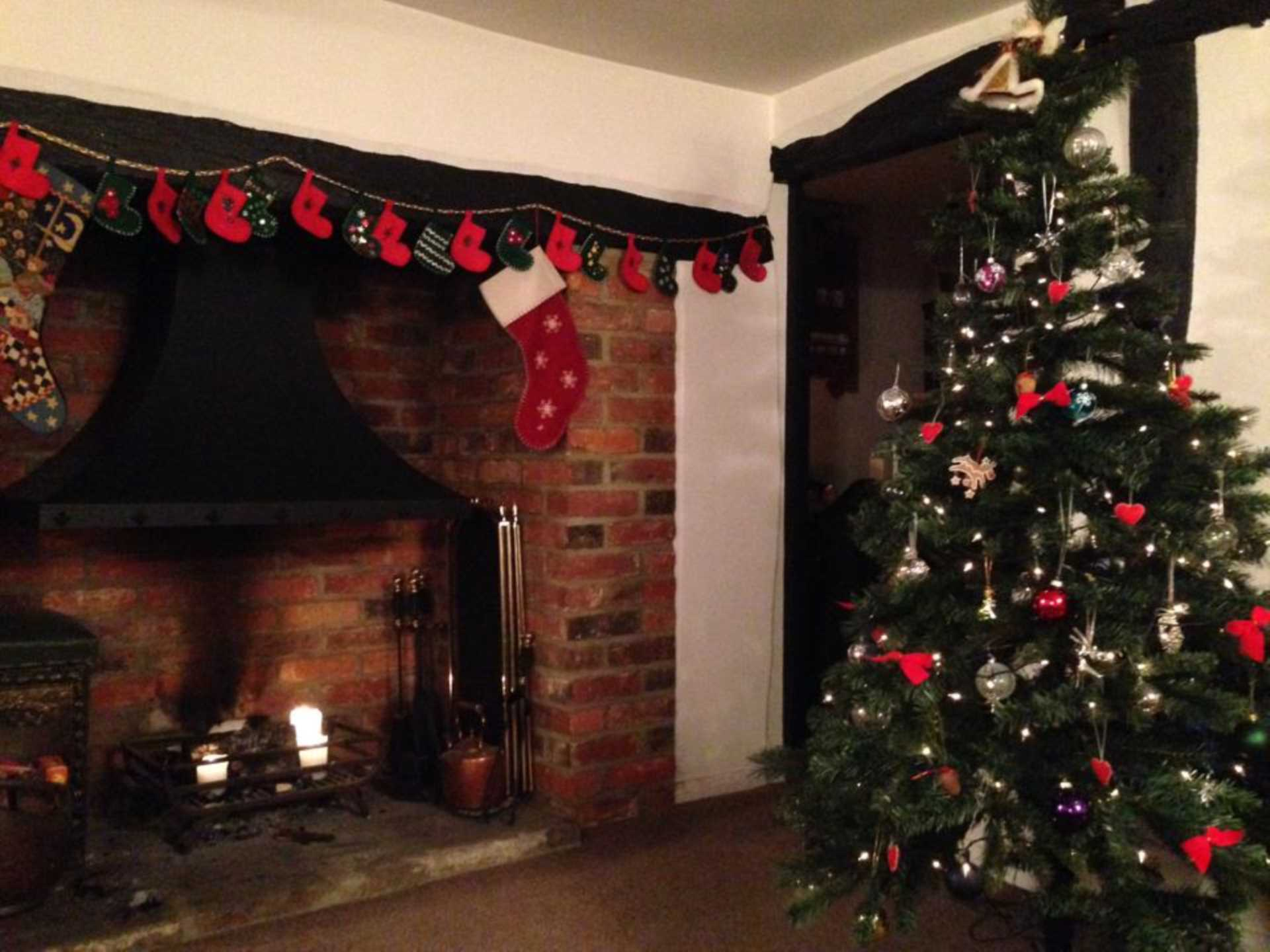 Why is it a good idea to put your house on the market over Christmas/New Year?
