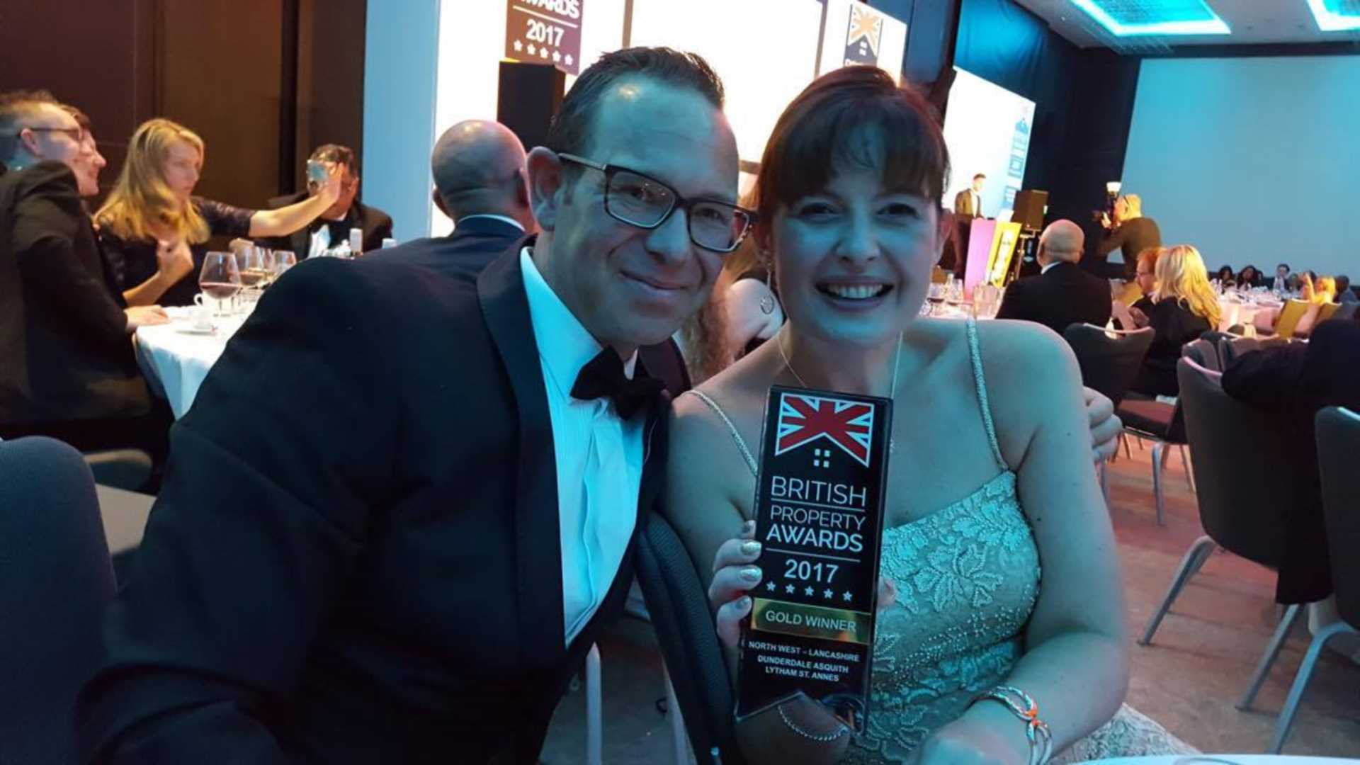 We have just been awarded Gold Winner at the British Property Awards - Lancashire - North West Region!