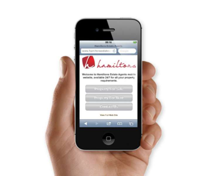Hamiltons New Website Goes Mobile