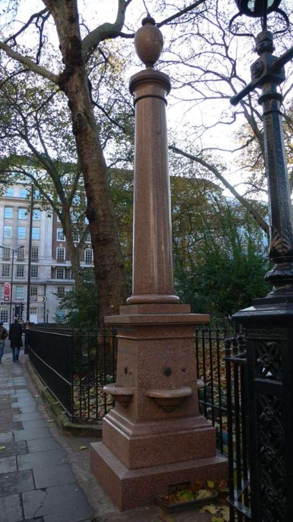 Portman Square Fountain Restoration