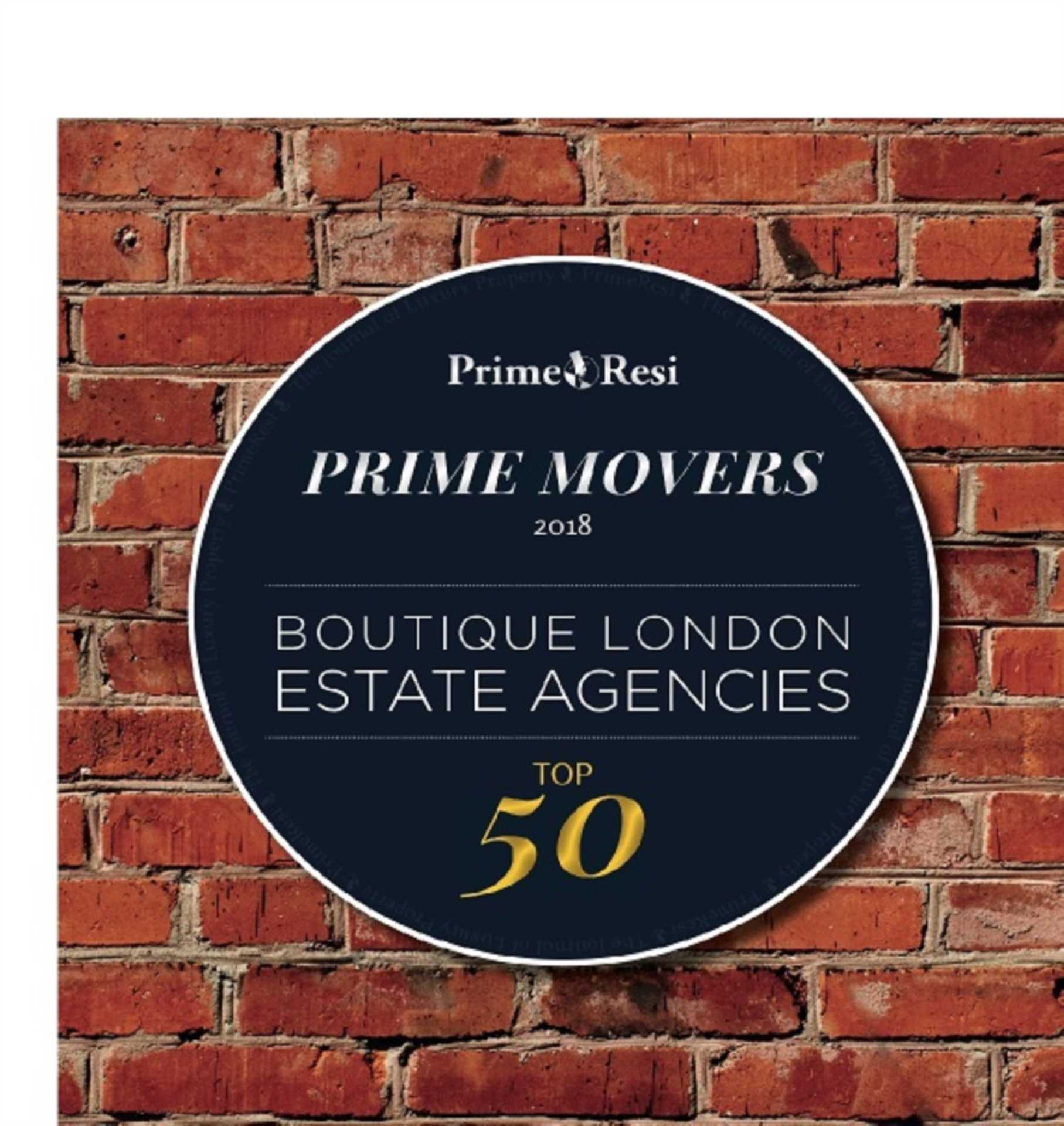 2018: London`s 50 Best Boutique Estate Agencies
