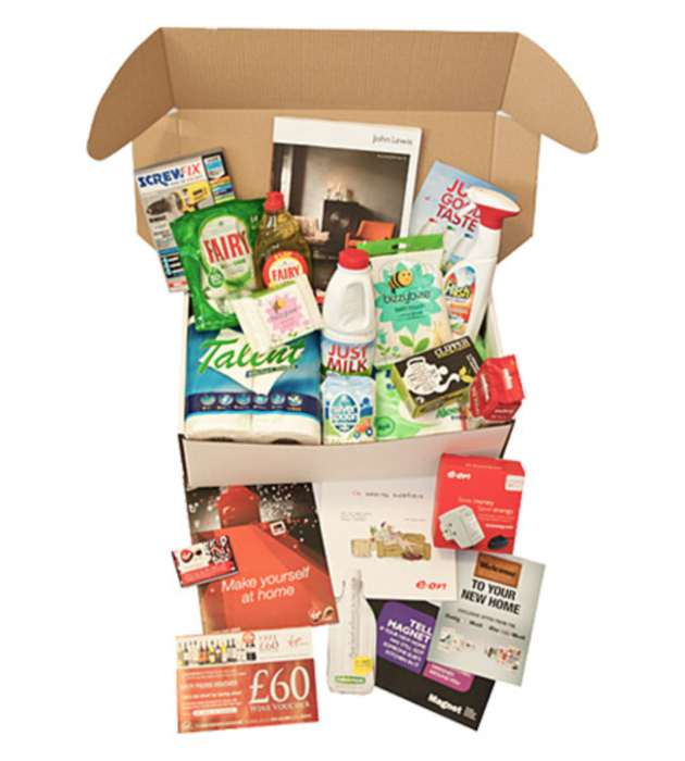 The Free Gift Box To Every Tenant