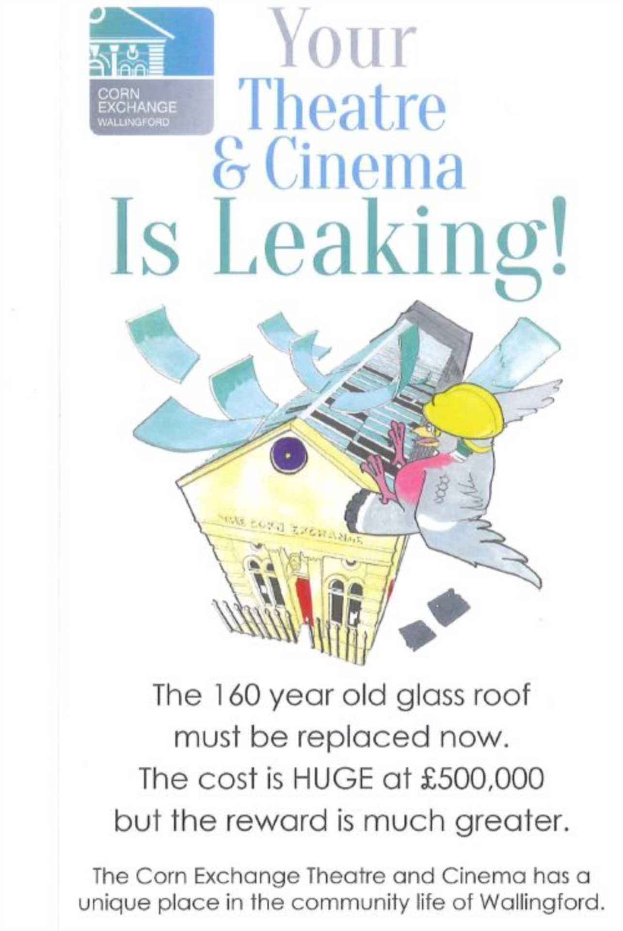 Your town`s cinema roof is leaking!