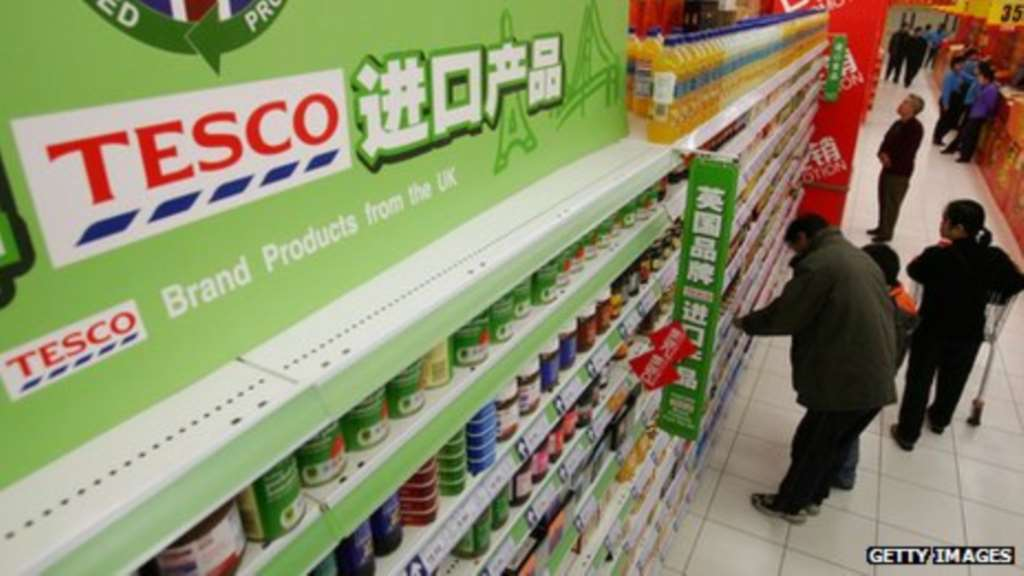 Tesco And China Resources Enterprise Reach Retail Deal