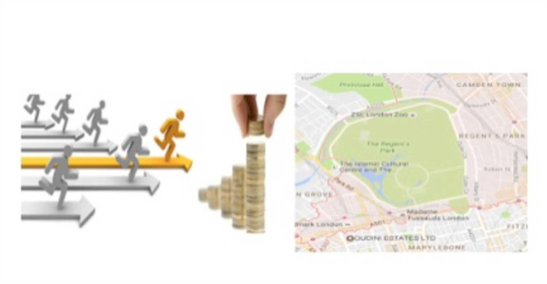 Magnifying the large NW1 area`s investment prospects – on your marks, get set, and go! Should we be sprinting towards Marylebone`s NW1 territory, or are there better buy-to-let properties to be found between Regent`s Park and Camden Town`s NW1 perimeters?