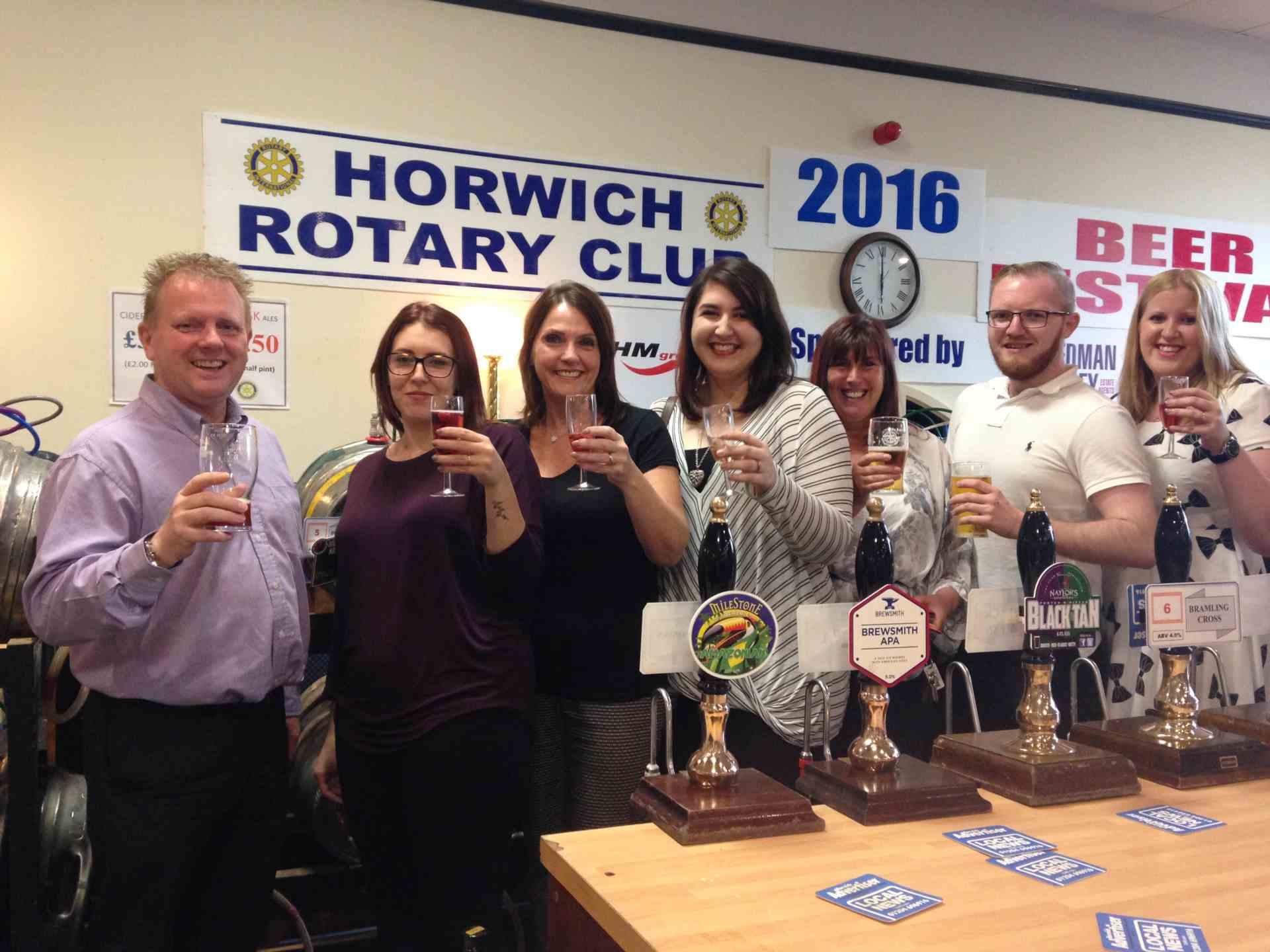 Horwich Beer Festival Sponsors Opening Night