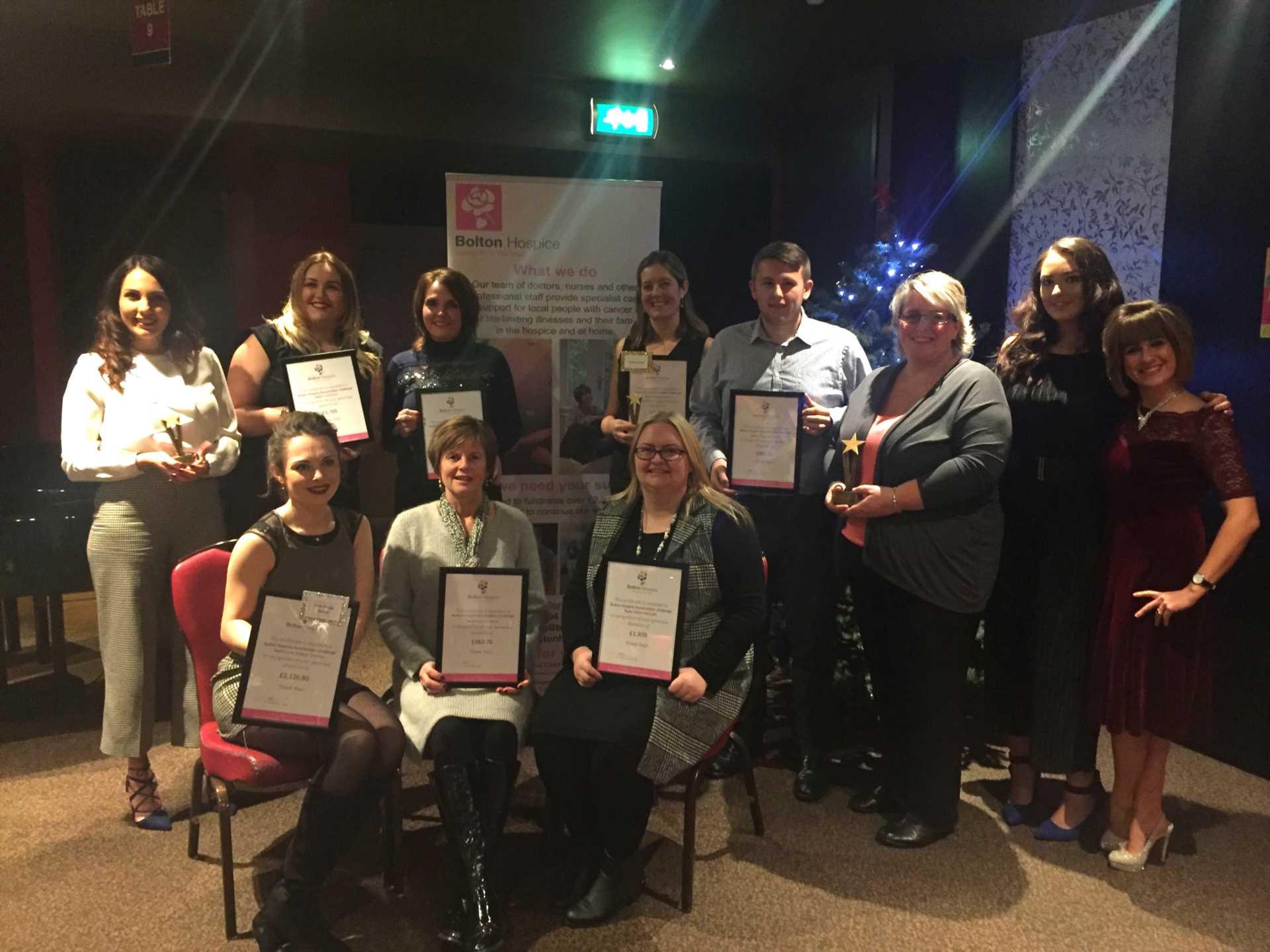 Bolton Hospice Awards Event Dec 1st