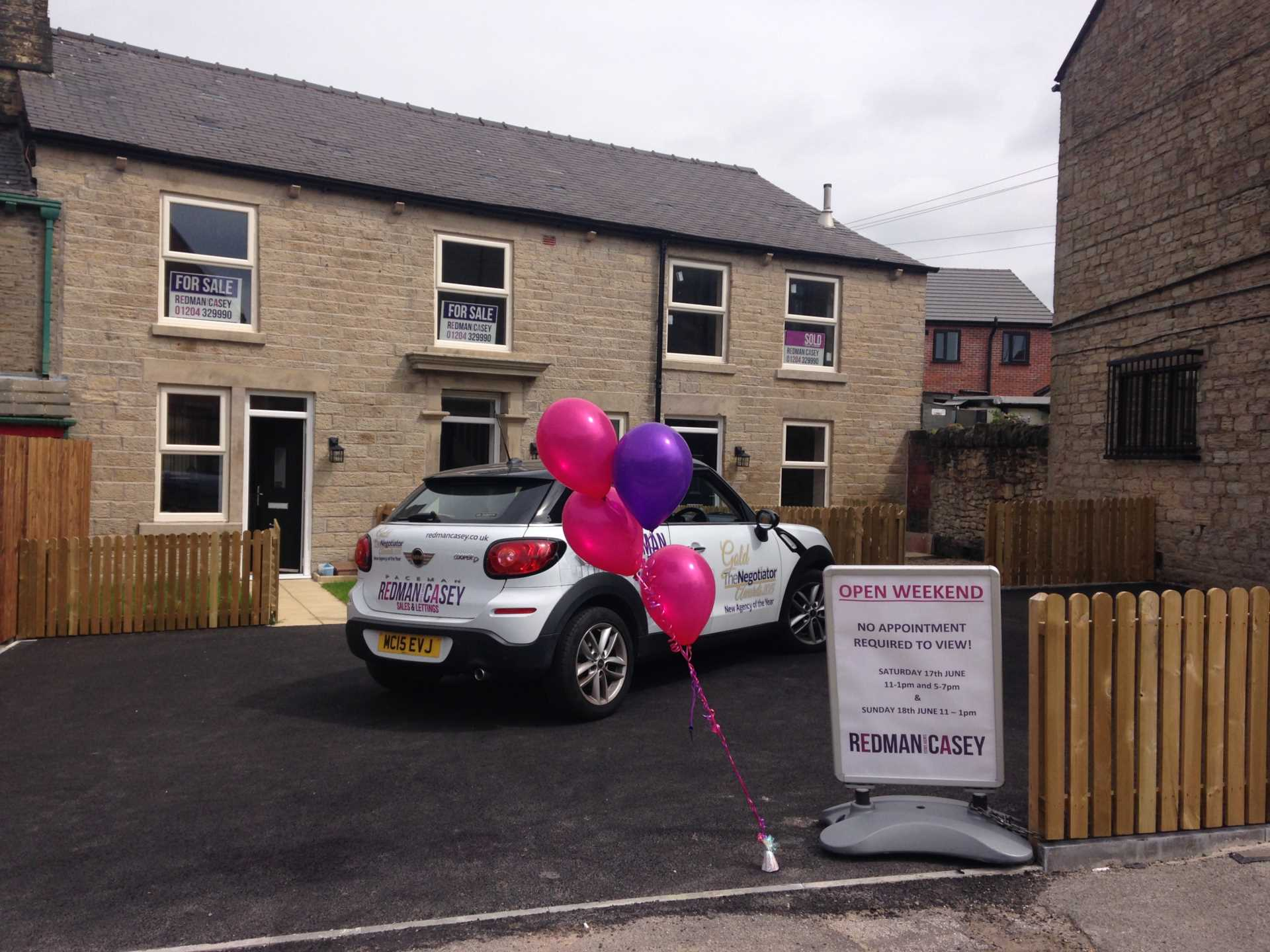 Succesful Open day - all Queens Mews SOLD !