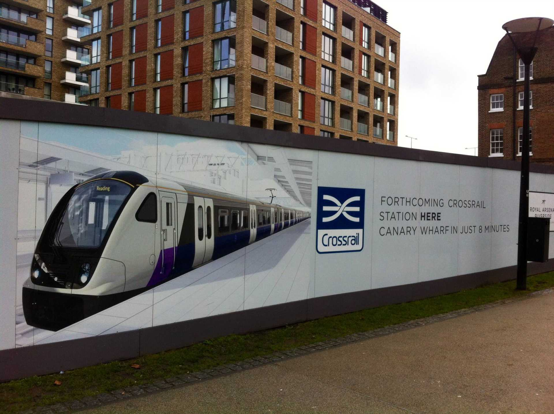 Crossrail Services from Woolwich