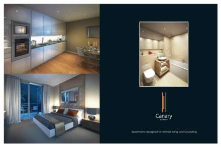 2 Bedroom Apartment, Canary Gateway, Limehouse