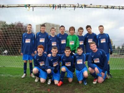 Able Estates Sponsor 7 Acres Under 16 Football Team.