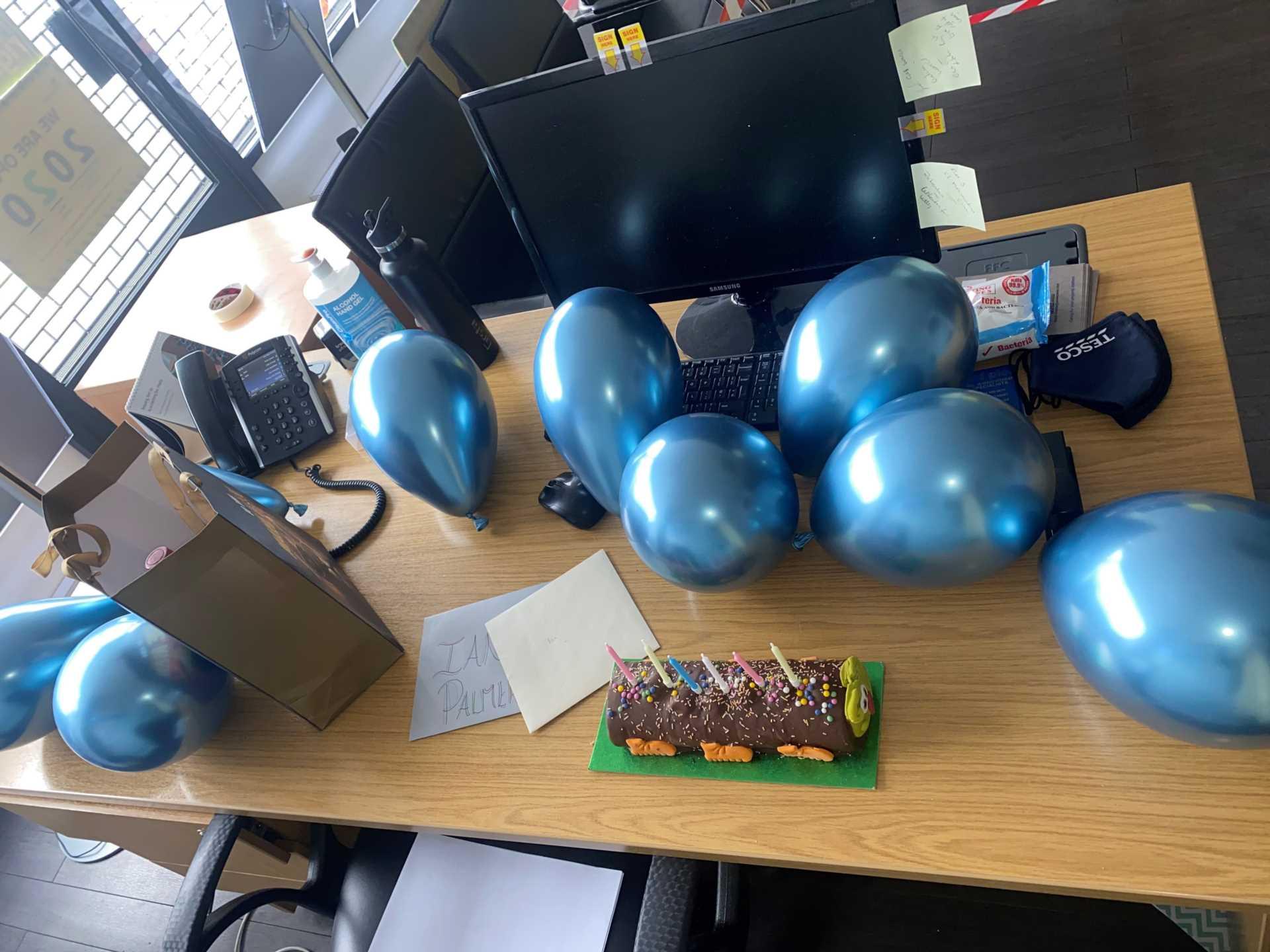 Wishing our Ian palmer a happy birthday!