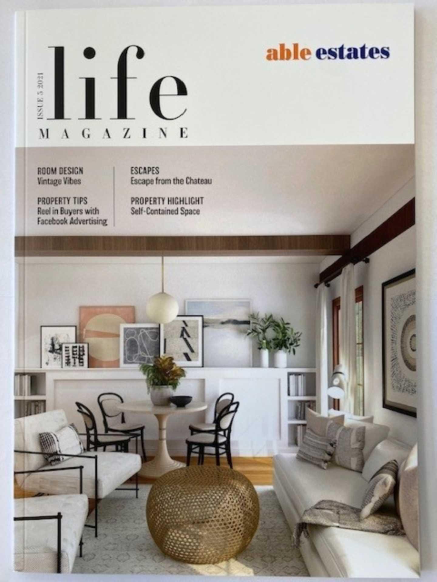 Able Estates Life Magazine.
