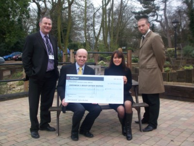 Able Estates Make Further Donation To Hospice.
