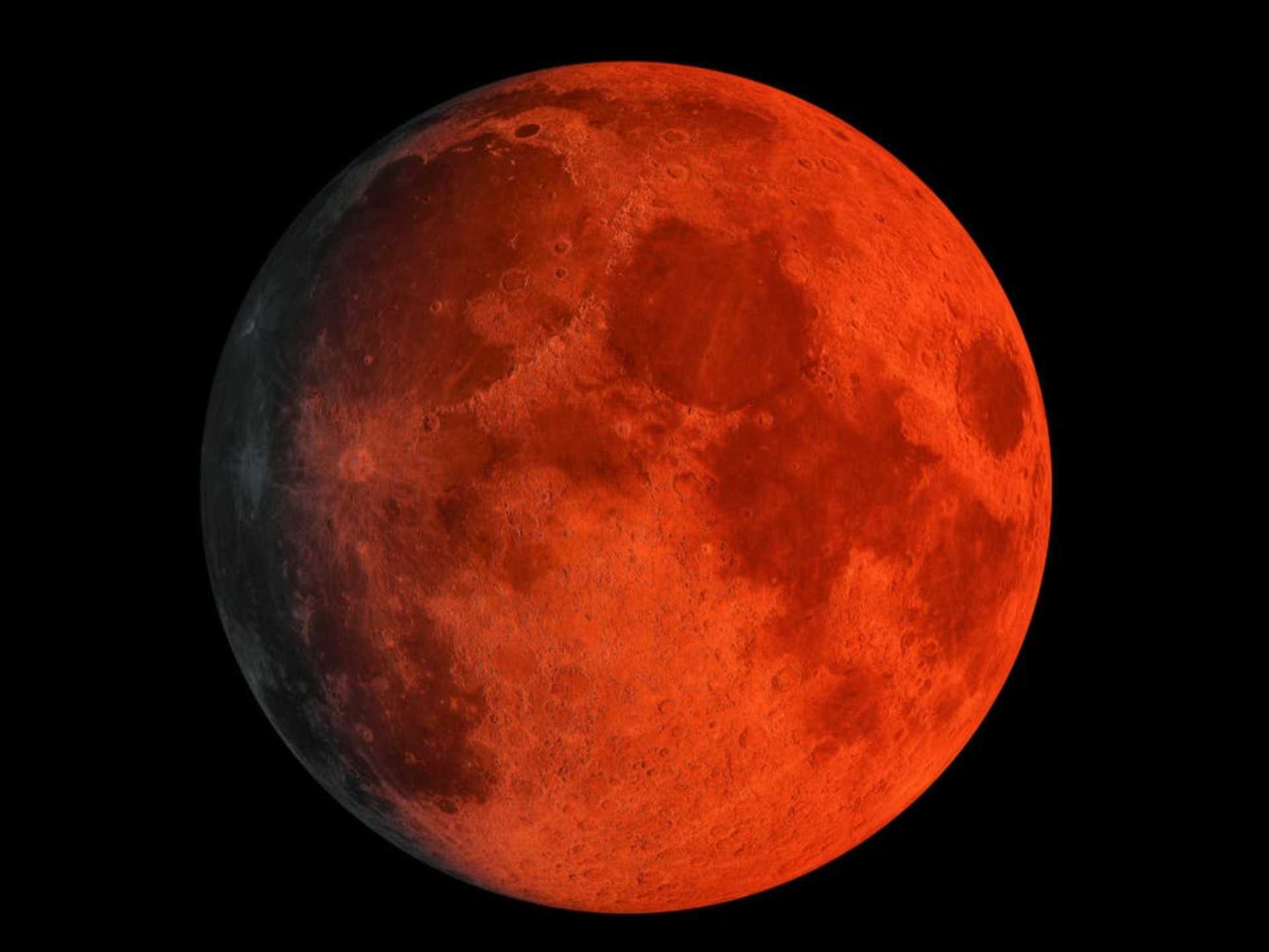 Blood Super Moon