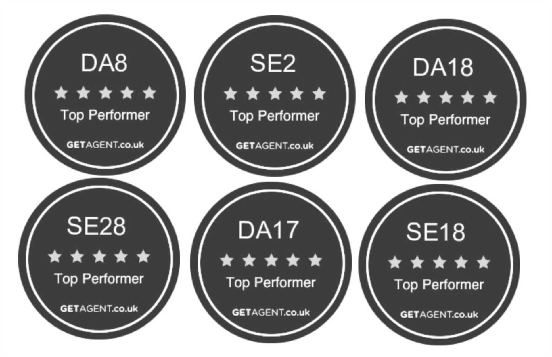Able Estates Wins 6 GetAgent Top Performer Awards!