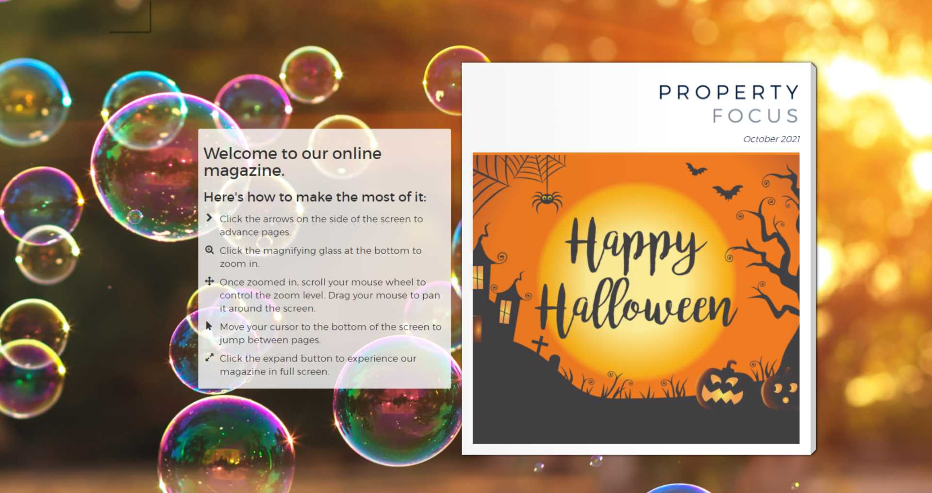 OUT NOW - October E-zine