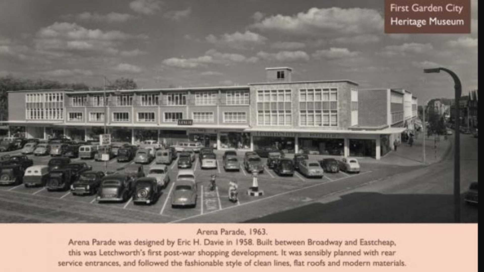 Our office location Arena Parade in 1963!