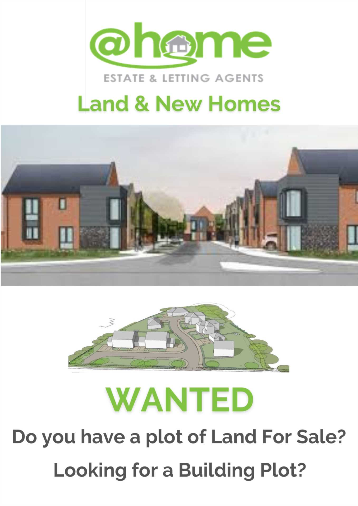 Land & New Homes WANTED