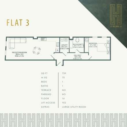 Flat 3, 17 Hilary Street, Image 1