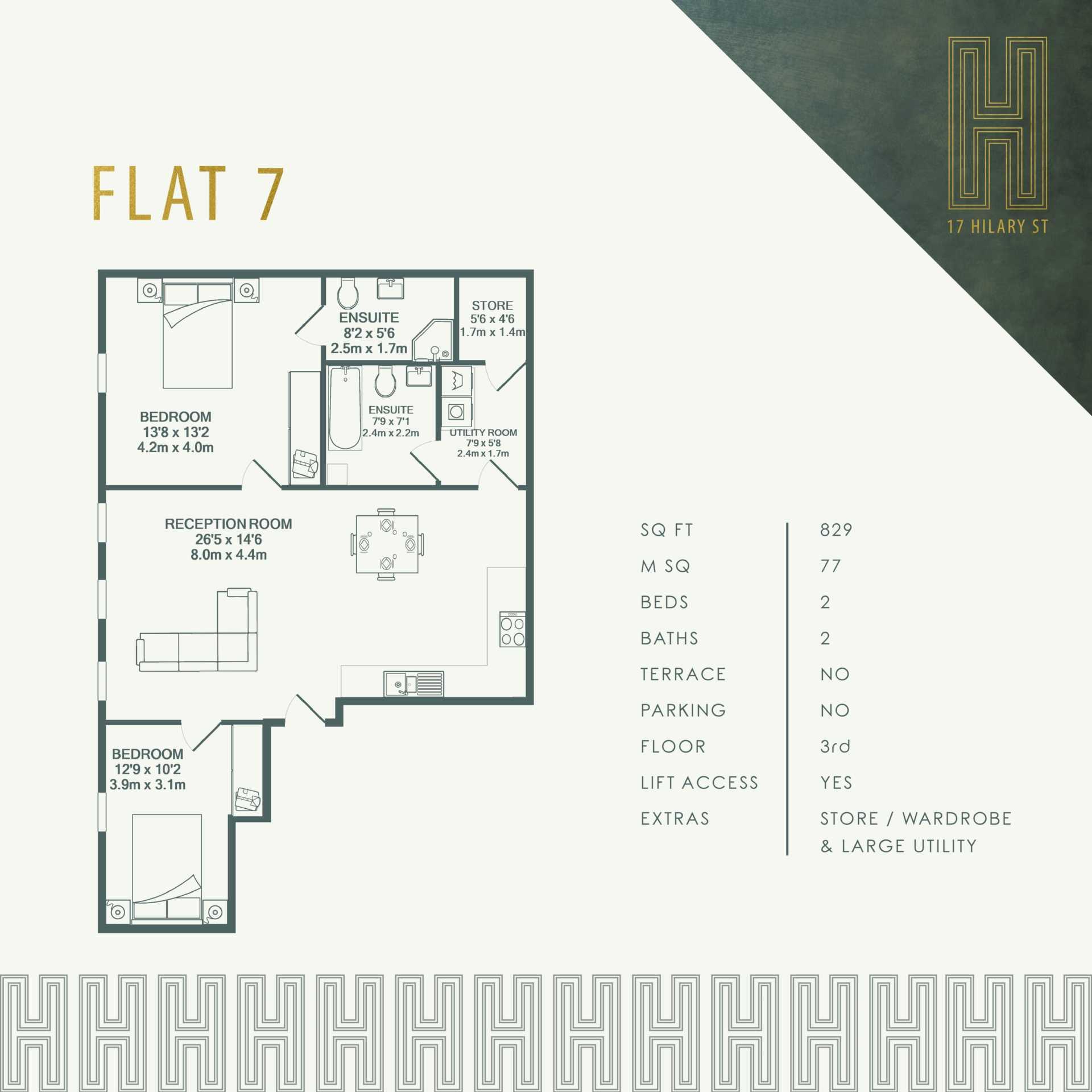 Flat 7, 17 Hilary Street, Image 4