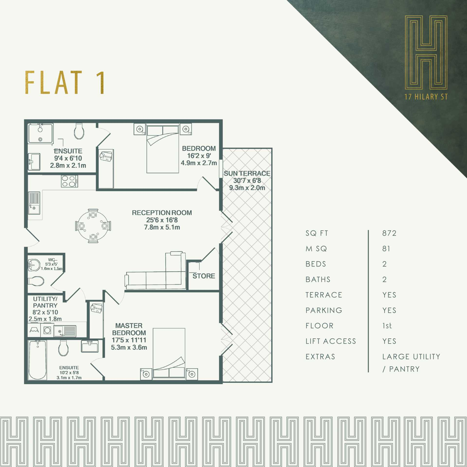 Flat 8, 17 Hilary Street, Image 3