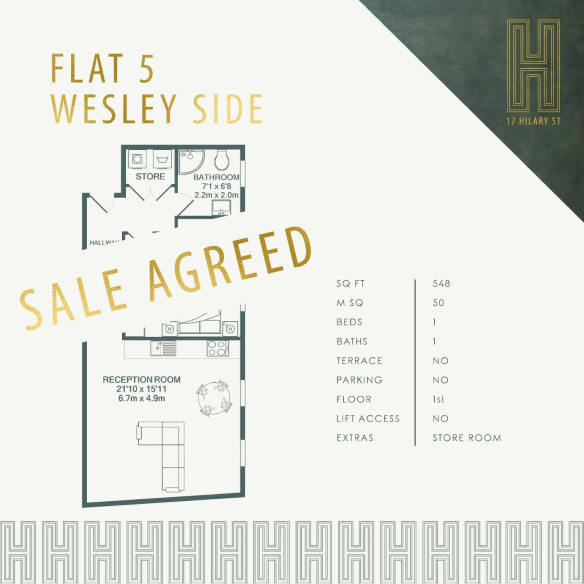 Flat 5, WS, 17 Hilary Street, Image 1