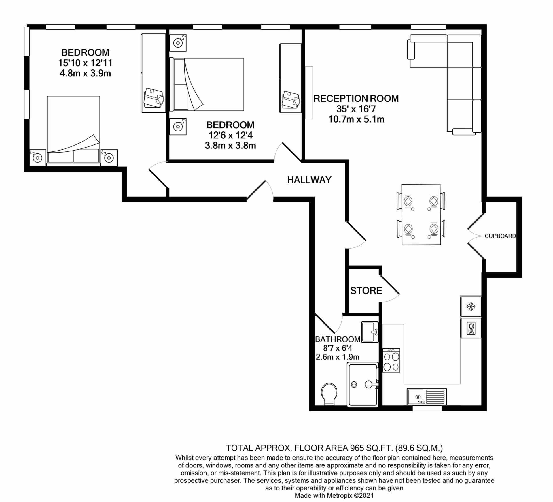 Flat 6, Waterloo Apartments, Image 14