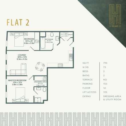 Flat 2, 17 Hilary Street, Image 4