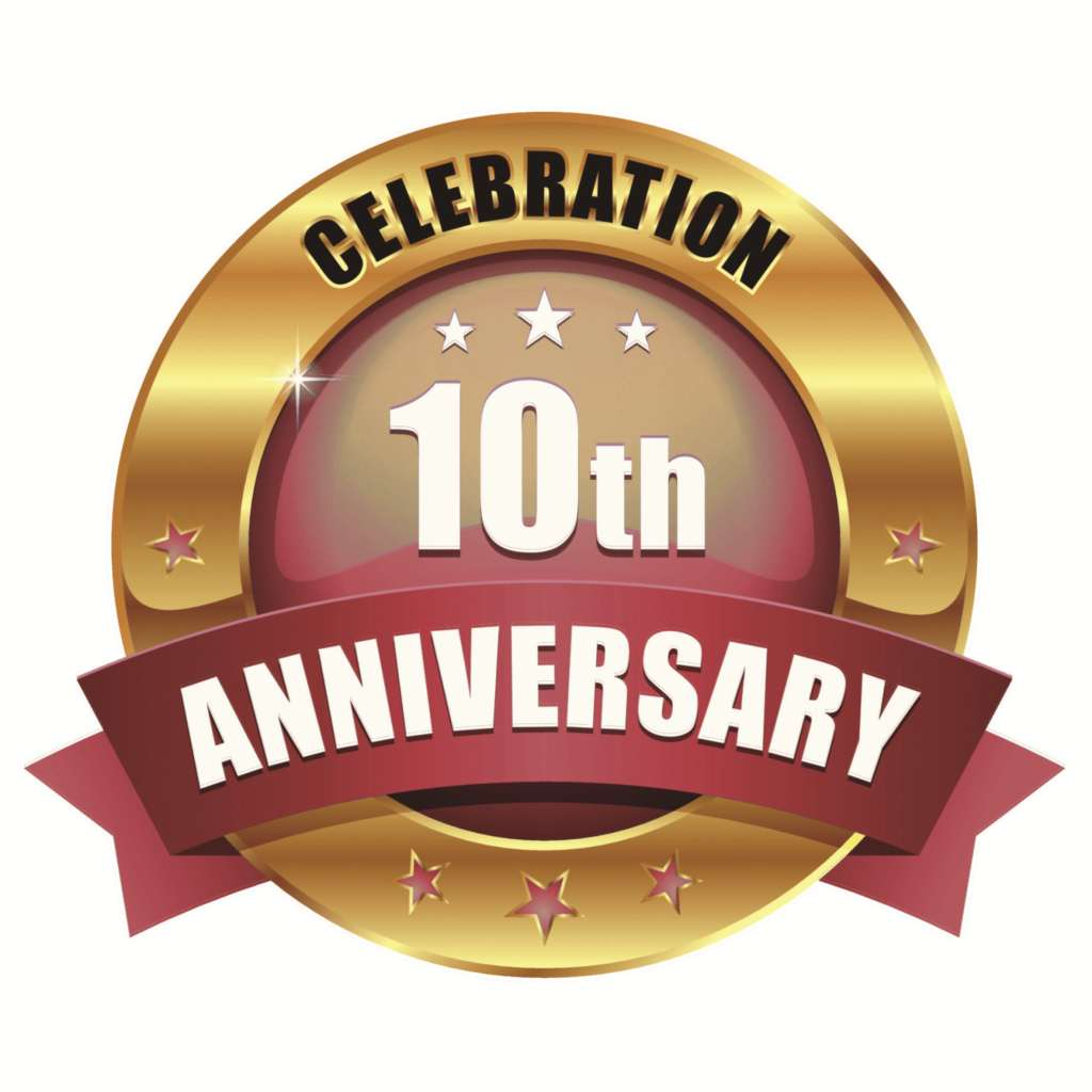 A Decade Of Excellent Service!