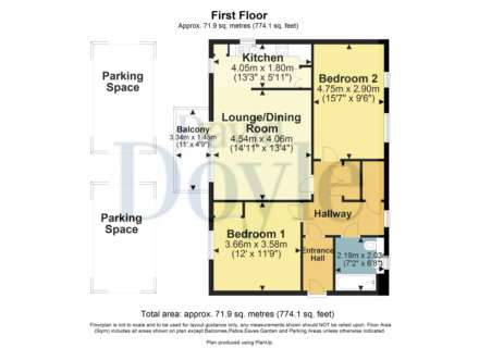 2 DOUBLE BED APARTMENT WITH 2 PARKING SPACES ON MODERN DEVELOPMENT., Image 2
