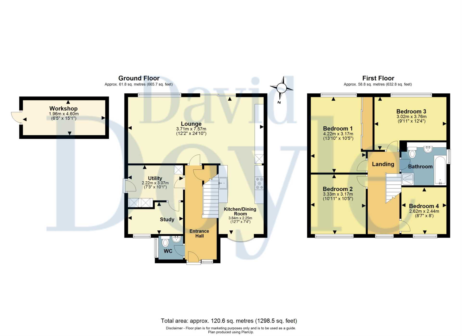 REFURBISHED 4 DOUBLE BEDROOM - SOUGHT AFTER OLD TOWN, HP2, Image 2