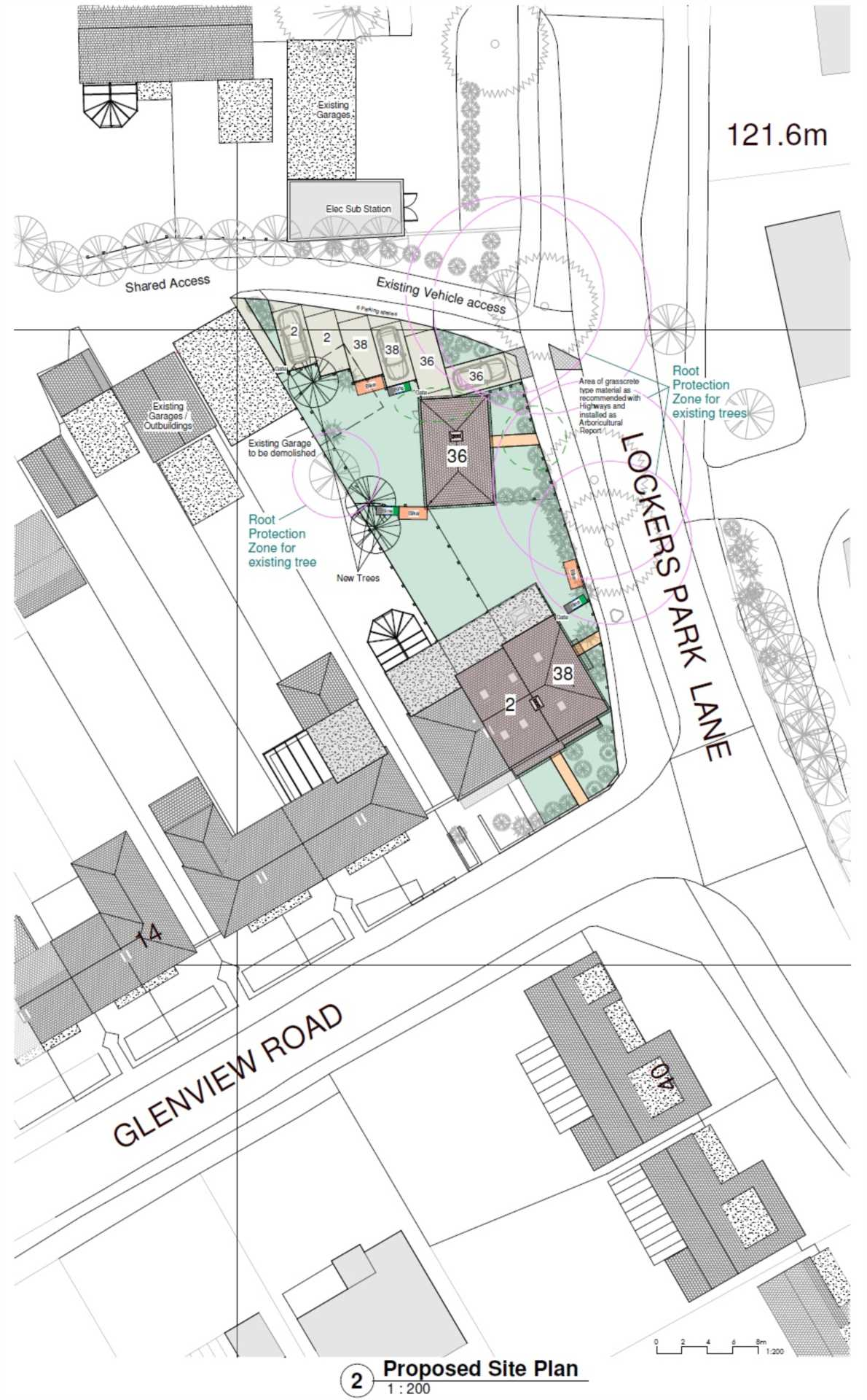DEVELOPMENT PLOT TO THE REAR, AND ADJACENT TO, EXISTING CHARACTER PROPERTY - Glenview Road, BOXMOOR, HP1, Image 3