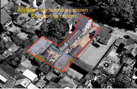 Land, **  DEVELOPERS AWARE - 4 UNITS  **  TOWN CENTRE PERIOD PROPERTY WITH PLANNING APPROVED FOR 3 SEPARATE MIXED SIZED PLOTS
