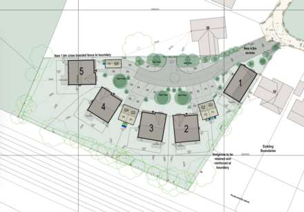 Land, **  5 EXECUTIVE DETACHED PROPERTIES IN PRIME BERKHAMSTED RESIDENTIAL LOCATION CLOSE TO STATION  **