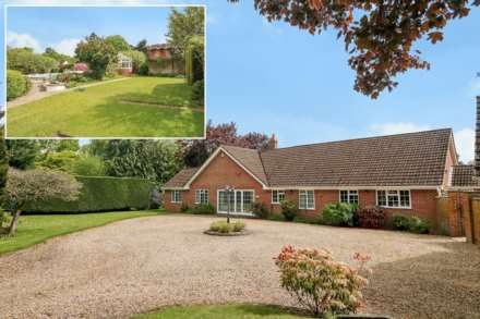 5 Bedroom Detached Bungalow, Bucklebury Common, Woolhampton, Berkshire