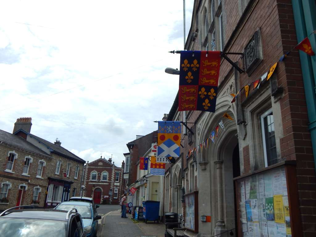 Heraldic Banners of Colyton