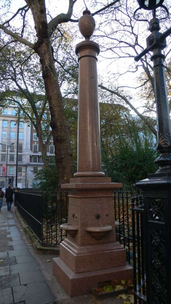 Portman Square Fountain Restoration