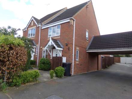 2 Bedroom Semi-Detached, Harlequin Road, Sileby LE12 7UR