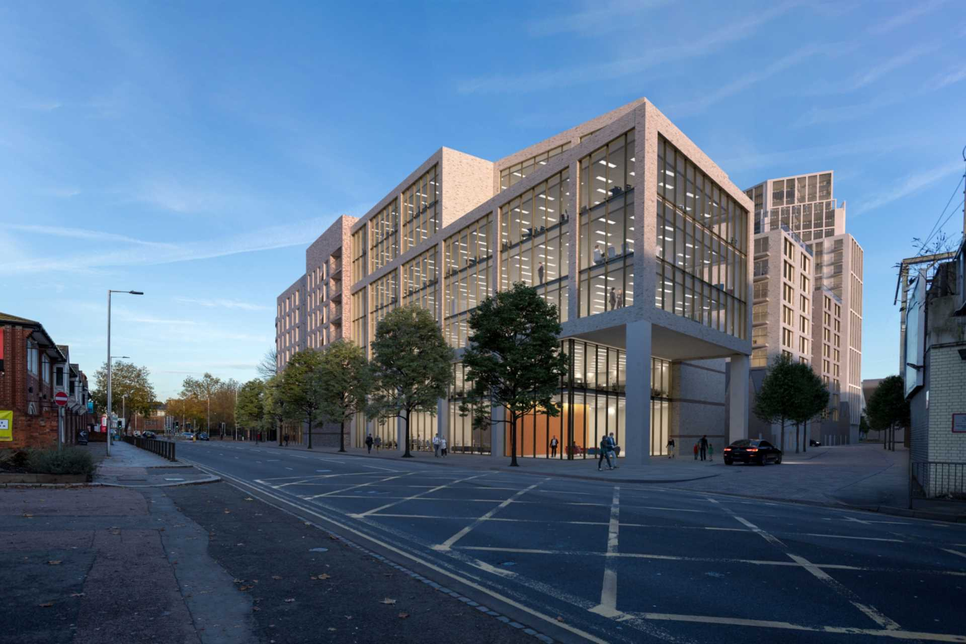 Designs for 650 home development on former Reading Royal Mail site revealed
