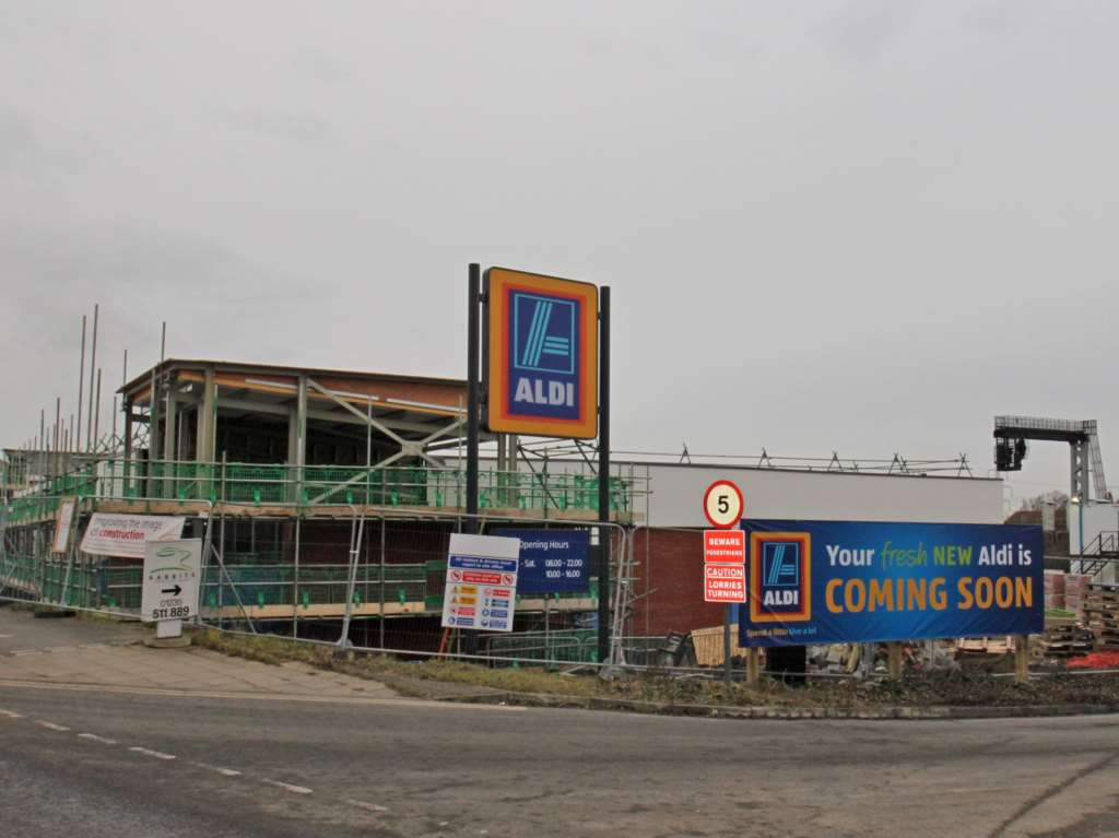 Aldi Close To Opening In Didcot