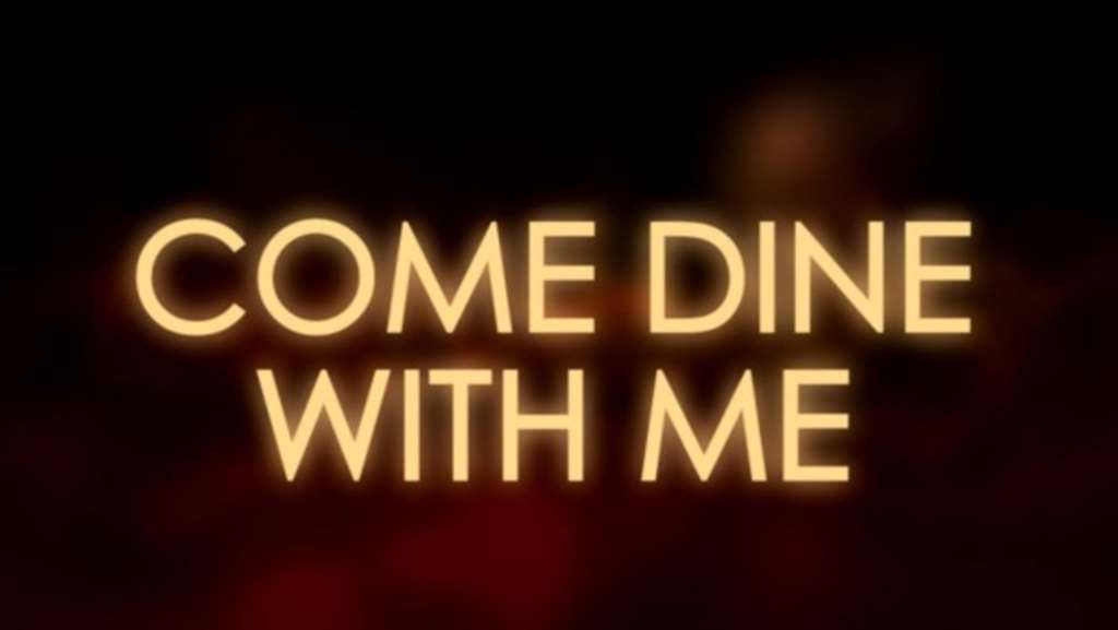 James Stars In Come Dine With Me!!
