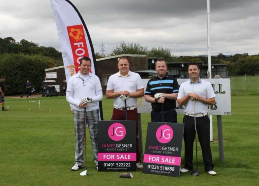 Footsteps Charity Golf Day June 24th hadden Hill Golf Club