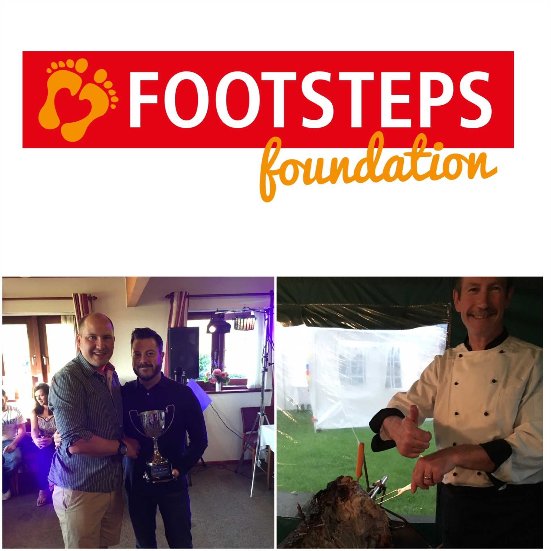 Footsteps Charity Golf Day 14th July Hadden Hill Golf Club