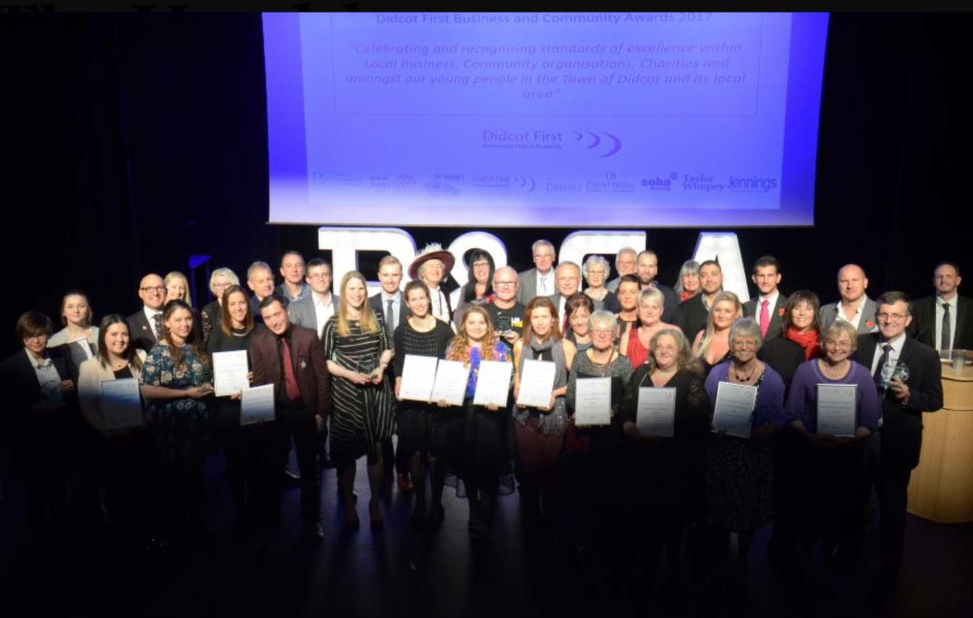 Didcot honours best businesses and community organisations at glitzy ceremony